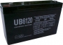 LCR6V12P Panasonic 6V 12Ah SLA Battery